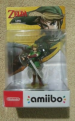 Link Twilight Princess amiibo (Legend of Zelda, Nintendo) NEW AUS STOCK