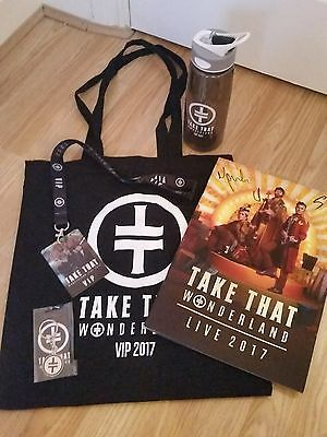 Take That Wonderland Vip Merchandise Package 02 London