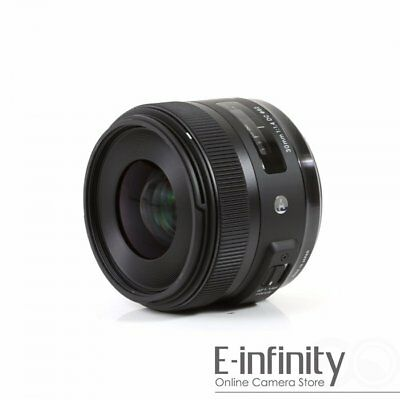 Sigma 30mm f/1.4 DC HSM (Contemporary) Art Series standard lens For Canon