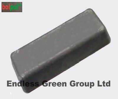 "4"" bolpol GREY - for 1st stage metal cleaning & polishing of Steel & Stainless"