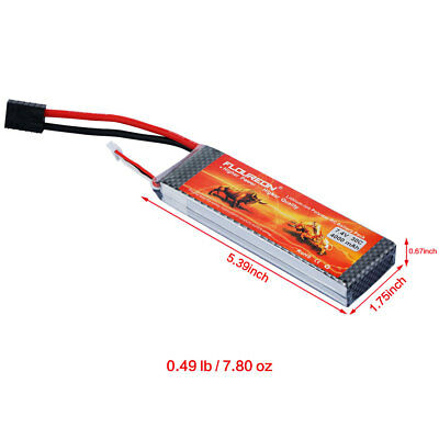 2S 7.4V 5200mAh 30C Deans LiPo Battery Pack for RC Car Truck Airplane Drone FPV
