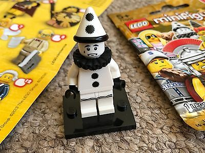 Lego - Series 10 - Sad Clown Minifigure - Brand New - Mint Condition -