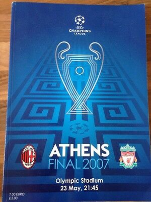 2007 Champions League Final- AC Milan V Liverpool