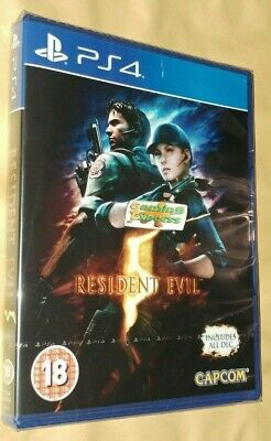 Resident Evil 5 HD Remake includes ALL DLC  Playstation 4 PS4 NEW SEALED