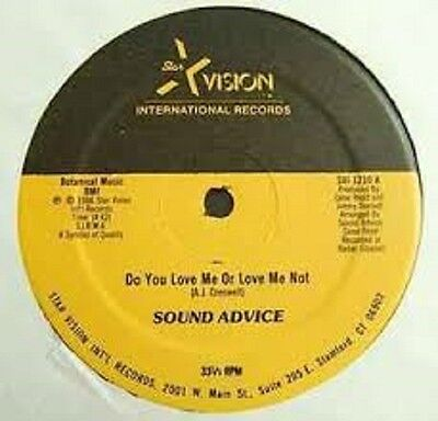 """Sound Advice Do you love me or love me not US Xvision (12"""" Vinyl Soul)"""