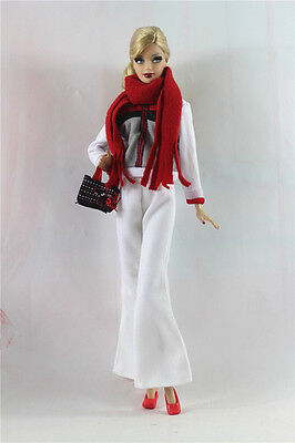 6in1 Set Fashion clothes/outfit Casual wear For Barbie Doll a01