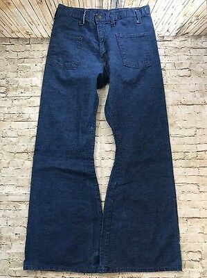 True Vintage JC Penney's Women's Bell Bottoms Jeans Flare Md Wash  High Waist