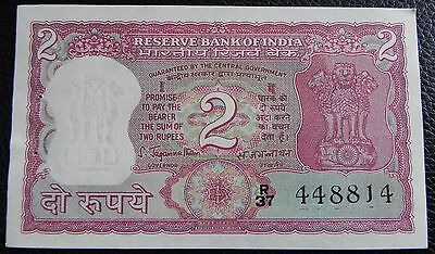 INDIA - 2 rupees - ND (1970) - Pick 53a (signature 78, corrected Urdu)