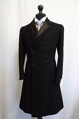 Men's Vintage 1930's Morning Coat Swallow Tail Tailcoat Size 36 SS9639