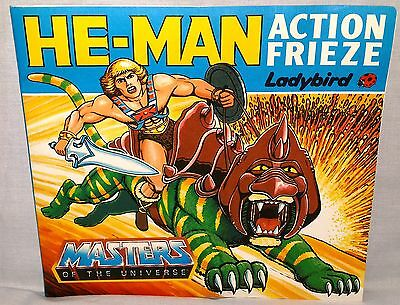 Vintage He-Man Masters Of The Universe Action Frieze Figure Booklet Complete