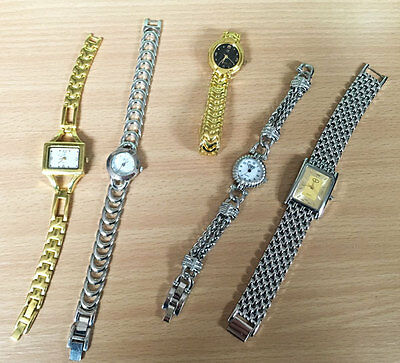 Wholesale Job Lot Pack Of 25 Assorted Chain Watches 25