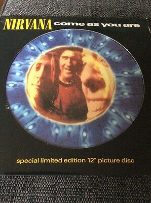 Nirvana - Come As You Are - 1992 Picture Disc 12 Inch Single