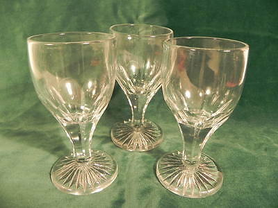 Lot Of 3 Early 19Th Century Continental Sherry/wine Glasses, Possibly Swedish