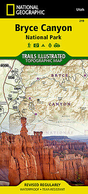 Trails Illustrated Bryce Canyon National Park