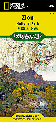 Trails Illustrated Zion National Park