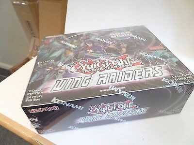 Yugioh Wing Raiders Booster Box New And Sealed  English 1St Edition