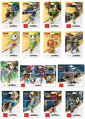 THE LEGEND OF ZELDA NINTENDO amiibo COLLECTION BREATH OF THE WILD LINK GUARDIAN