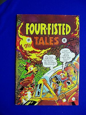 Four Fisted Tales 1 underground. 1st print. Bode imitator/tribute. VFN