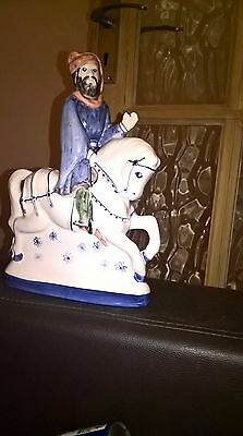 RYE POTTERY Chaucer's Canterbury Tales Hand Painted Figurine THE KNIGHT