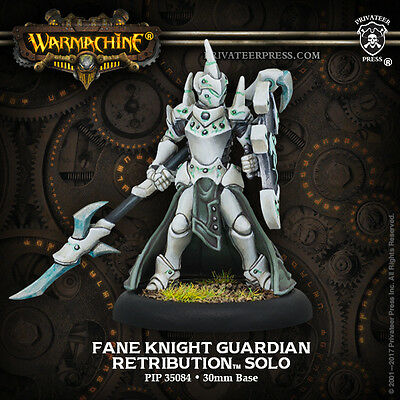 Warmachine Retribution of Scyrah Fane Knight Guardian - Privateer Press - New