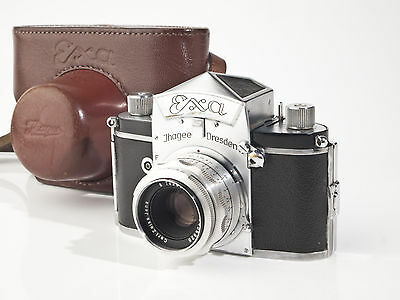 Ihagee  Dresden Exa with Zeiss Tessar 2.8 / 50mm Lens - fully working - exc.+