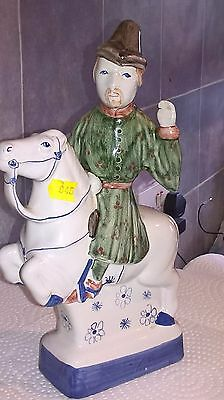 RYE POTTERY Chaucer's Canterbury Tales Hand Painted Figurine THE MERCHANT