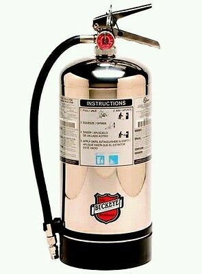 Buckeye K Class Fire Extinguisher, 50006, Bilingual Sign Included/ Monthly Tag