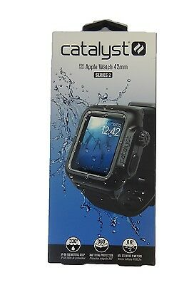 Catalyst Waterproof Case and Band for Apple Watch 42mm Series 2 - Black NEW