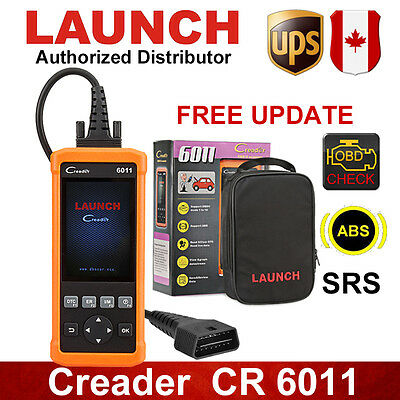 LAUNCH Creader 6011 OBD2 EOBD Scanner ABS SRS Data Record For GM Ford Toyota VW