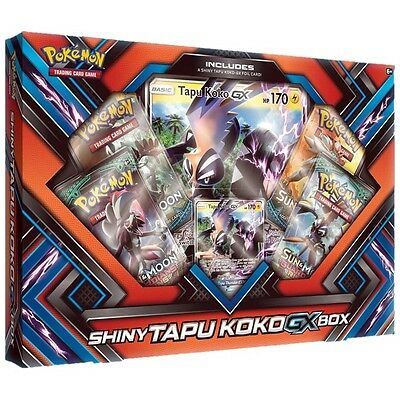 Pokemon TCG Shiny Tapu Koko GX Pin Box