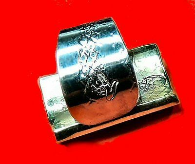 "💎The VooDoo Finger 1"" Ring Guitar Slide Brass Bone Stealth Blues Dobro Rock"
