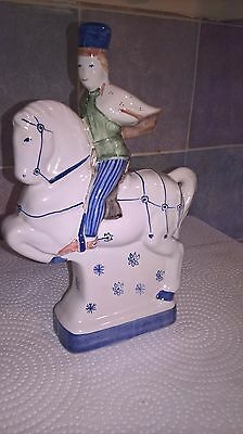 RYE POTTERY Chaucer's Canterbury Tales Hand Painted Figurine THE SQUIRE
