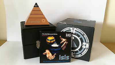 ISIS Puzzle, Signed. The Sonic Games Puzzle Adventure. 38/50