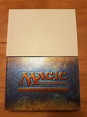 Magic the Gathering FROM THE VAULTS 20 (twenty) Sealed New