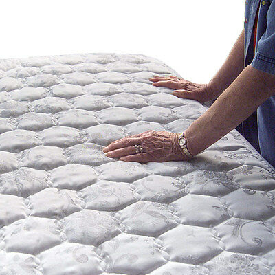 """SPLIT QUEEN Size (207 Magnets) 1"""" Thick ProMagnet Magnetic Therapy Mattress Pad"""