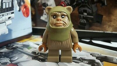 Lego Star Wars - Ewok Warrior Minifigure *Perfect Condition!* 10236 75097