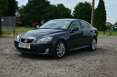 2007 Lexus IS 250 6 Speed Auto Sport Grey HPI Clear Damaged Repairable Salvage