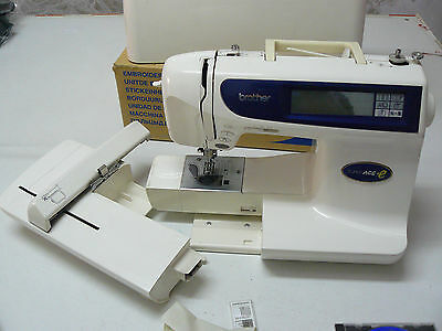 Brother SUPER  SUPER ACE+E Embroidery & Sewing Machine  + Transfer Unit
