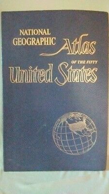 National Geographic Atlas of the Fifty United States 1960 Cartographic DIvision