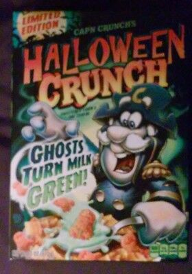 CAP'N CRUNCH'S new HALLOWEEN CRUNCH CEREAL - LIMITED EDITION Captain & ghosts