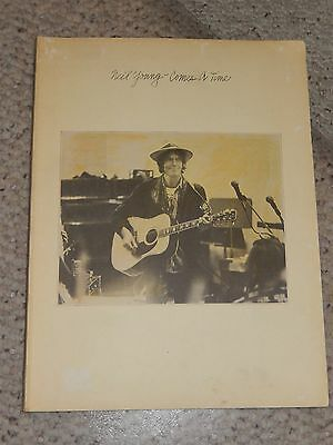 Neil Young Comes A Time (1978, Paperback Songbook)