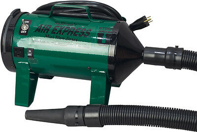 Sullivan Supply Air Express Mini Blow Dryer for Livestock Grooming Green