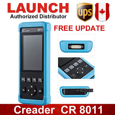 LAUNCH CR8011 OBD2 Scan Tool BMS ABS SRS Oil Reset For Toyota Ford GM Better 619