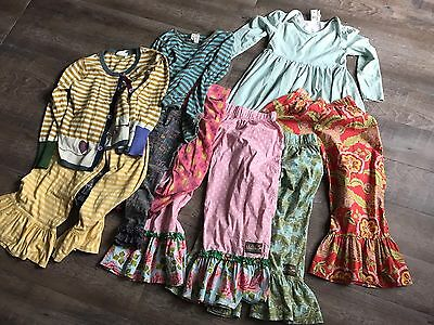 Matilda Jane Play Clothes Girls Size 8 Flaws - Pants, Tops
