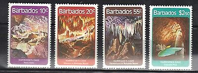 Barbados.harrisons Caves 1981 Mnh