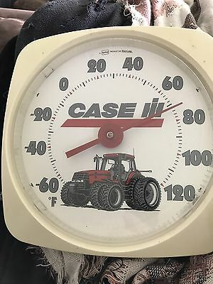 Case Tractor Thermometer ! Works Great ! Nice Shape ! Lens Is Good !
