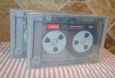 Brand New~2 Factory Wrapped Tapes~Imation Slr 24 Data Cartridges