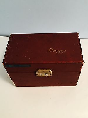 Old Vtg Collectible Revere Eight 8MM Movie Camera Photography
