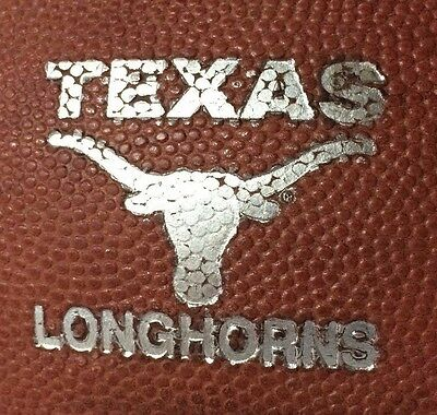 University of Texas Longhorns Game Used Football Nike Horween Leather Authentic