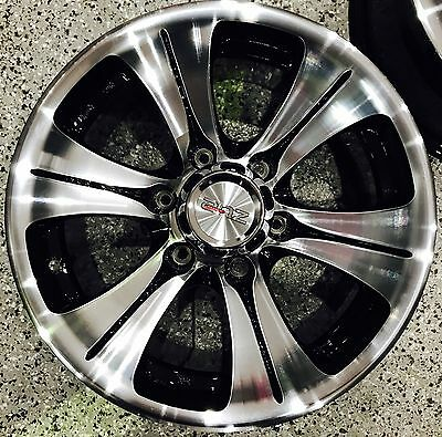 16x8 ANZ ALT 6/139.7 +2 OFFSET OFROAD WHEELS IN MELBOURNE SET OF 4